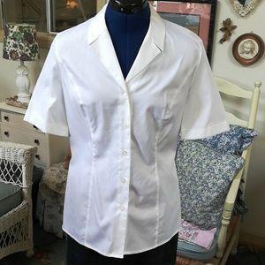 Escada white blouse